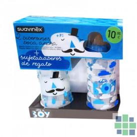 Suavinex pack 2 Biberones+ sujetababeros