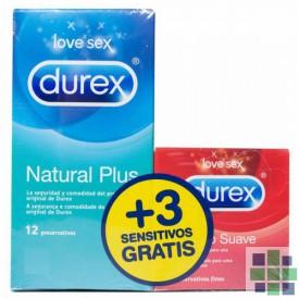 Durex Preservativo Natural Plus 12 Ud