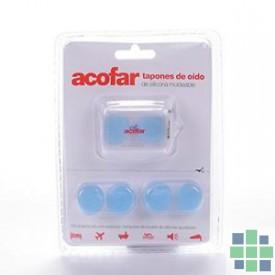 Tapones oidos Acofar de silicona moldeable
