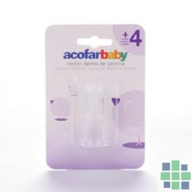 Acofarbaby cepillo dental silicona