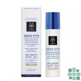 Apivita Aqua Vita BB cream Tono Claro 40 ml
