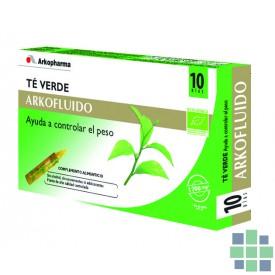 Arkofluído Té Verde 20 amp. x 15 ml