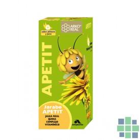 Arko Apetit jarabe sabor plátano y pera 150 ml