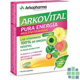 Comprar Arkovital Pura energía 30 comprimidos