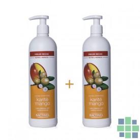 Bactinel leche corporal karite y mango 2x400ml