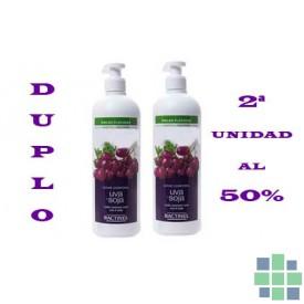 Bactinel leche corporal uva y soja 2x400ml
