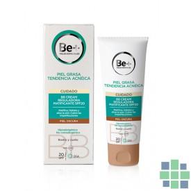Be+ BB cream reguladora matificante SPF20 piel oscura 50ml
