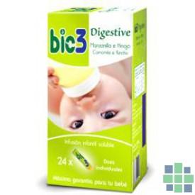 Bio3 Digestive manzanilla e hinojo 24 sticks