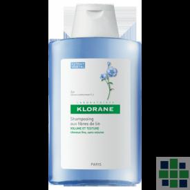 Klorane Champú a las Fibras de Lino 400 ml