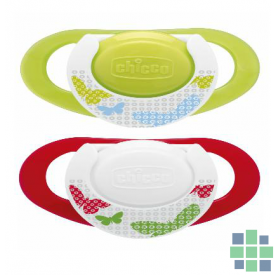 Chicco Chupete Physio +4m 2 Ud