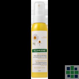 Klorane Cuidado solar aclarador a la camomila y miel 125 ml