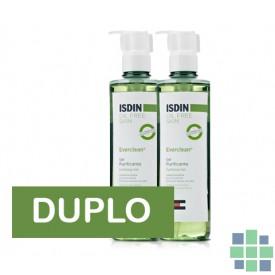 Duplo Isdin Everclean Gel Purificante 2 x 240 ml
