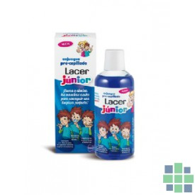 Lacer Junior enjuague pre-cepillado 500 ml