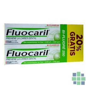 Fluocaril bi-fluore 250 pasta dentifrica menta 2x125ml