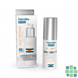 Foto Ultra ISDIN Age Repair Textura Water Ultraligera SPF50 50 ml
