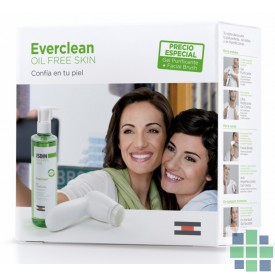 Isdin Everclean Gel Purificante 240 ml + Facial Brush
