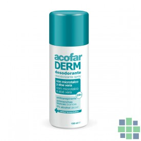 Acofarderm desodorante spray 150ml