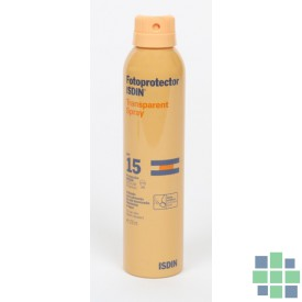 Isdin Fotoprotector Transparent Spray SPF15