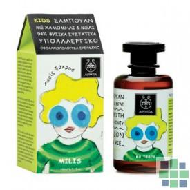 Apivita KIDS Champú con camomila y miel 250 ml
