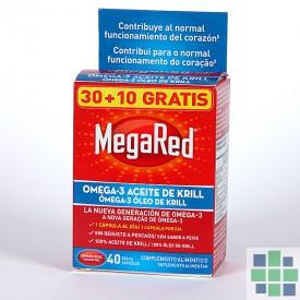 MegaRed 30+10 gratis