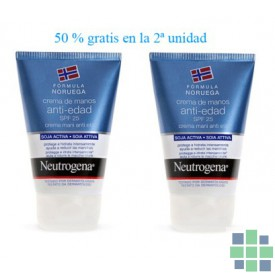 Duplo Neutrogena Crema de Manos Anti-edad 2x50 ml