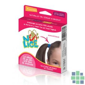 Coleteros anti piojos No Lice Aromaterapia 4 gomas