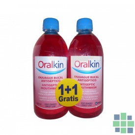 Oralkin enjuague bucal 2x500ml