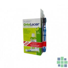 Ortolacer pack gel + colutorio + cepillo electrico regalo