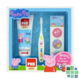 Pack PHB infantil Gel+cepillo Peppa Pig