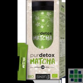 Purdetox Matcha 14 sticks + termo