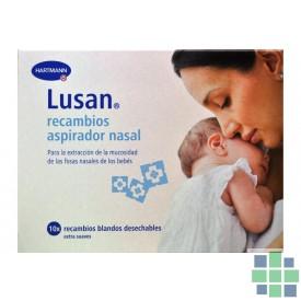 Lusan recambios aspirador nasal 10ud
