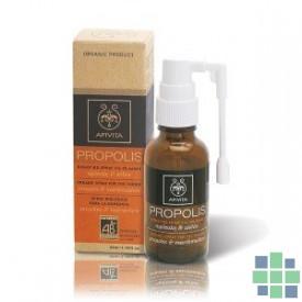 Apivita Spray Orgánico Para La Garganta Propolis 30 ml