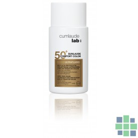 Cumlaude SUNLAUDE SPF50+ CONFORT COLOR fluido facial 50 Ml