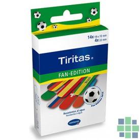 Tiritas Fan-Edition 18ud