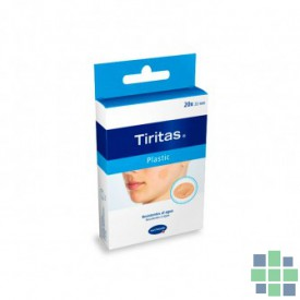 Tiritas Plastic Redondas 20x22mm