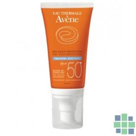 Avene Emulsión 50+ Sin perfume 50 ml