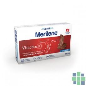 MERITENE VITACHOCO chocolate con leche 30 ud