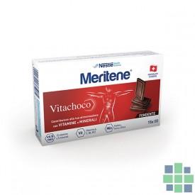 MERITENE VITACHOCO chocolate negro 30 ud