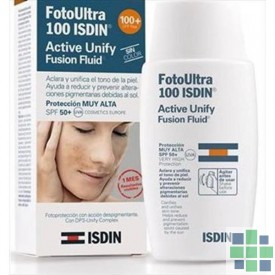 FotoUltra ISDIN Active Unify fusion fluid 100+ 50ml